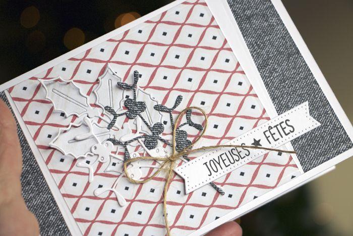 Bonjour !   Merci à Françoise qui nous envoie ses superbes cartes !                                          Matériel : Papiers de la collec...