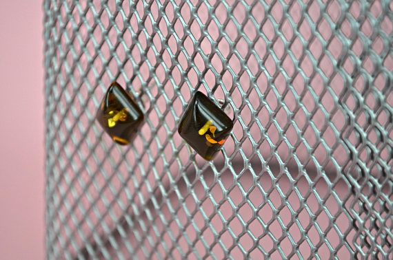 Stud amber earings small amber earrings minimalist earrings