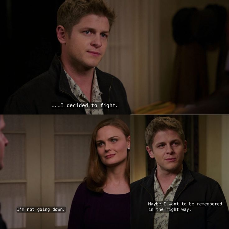 Wendell decided to fight cancer instead of running away from it. Bones season 9