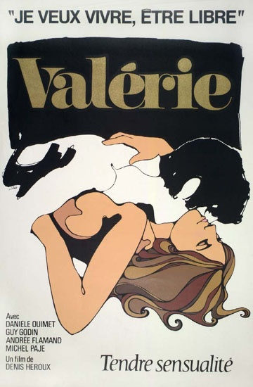 """Valérie"" de Denis Héroux, 1968.(I want to live, be free)."