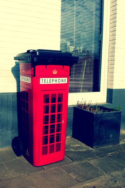"Sticker ""London telephone"""