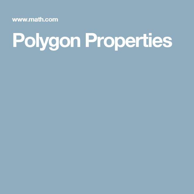 Polygon Properties