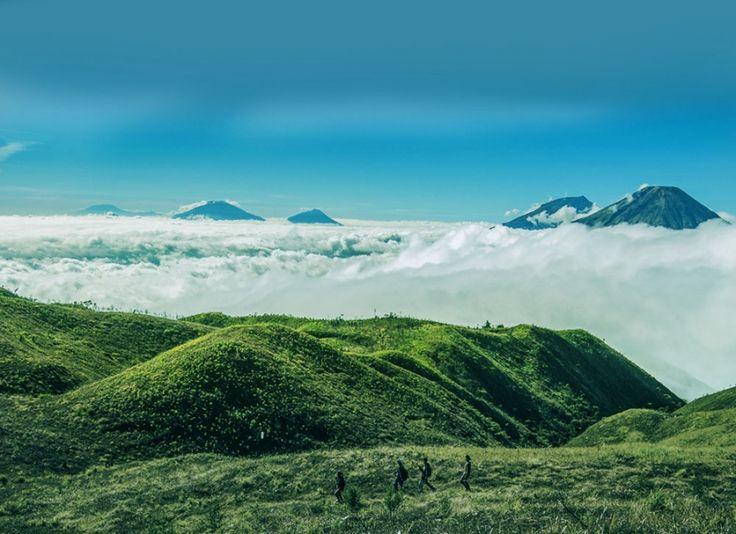 Dataran tinggi berpenduduk terbesar sedunia setelah Tibet, ada di Indonesia!