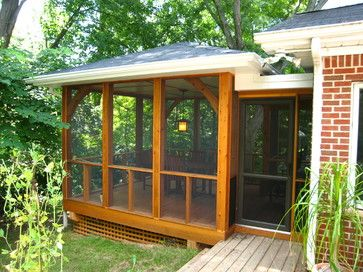 Simple+screen+porch Design Ideas, Pictures, Remodel, and Decor - page 3