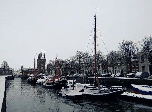 Zierikzee by snow