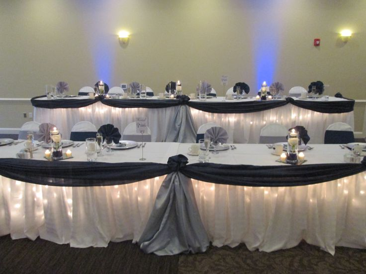 silver wedding table decorations 1000 images about headtable on receptions be 7468
