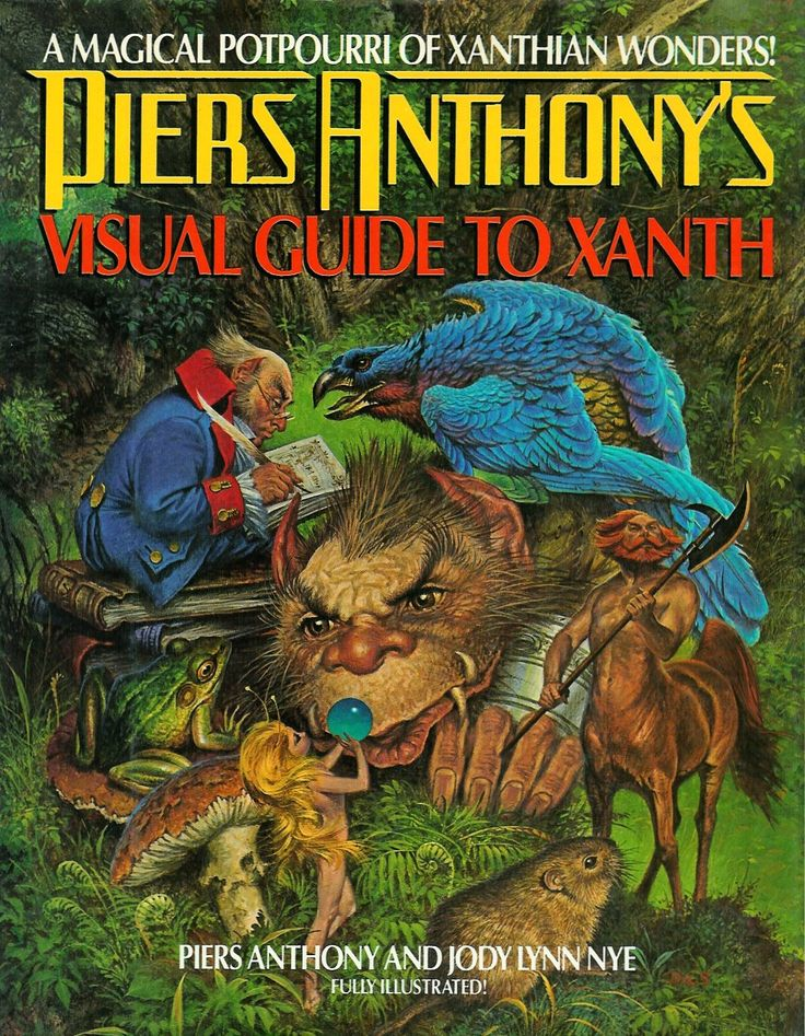 12++ Piers anthony books xanth series info