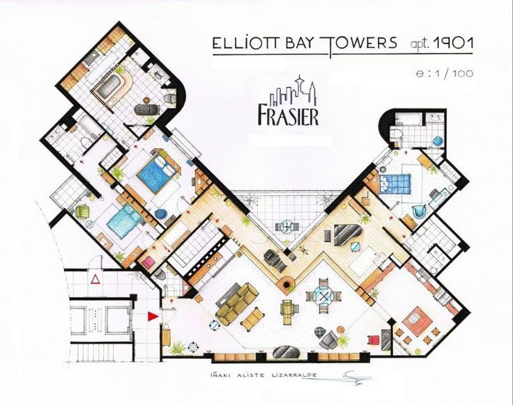 Frasier's Floorplans.