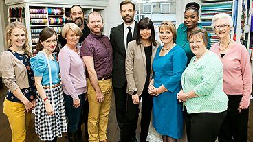 I think I may have a new favourite show - Series 1, The Great British Sewing Bee aired on BBC Two in 2013. A TV reality show/sewing competition without drama or clashing personalities!