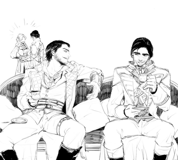 Jacob Frye and Arno Dorian ---I bet they would be best bros.
