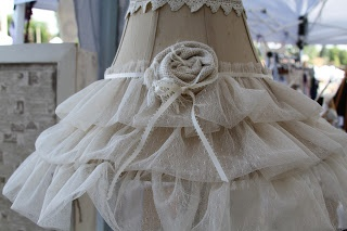 shabby chic Lamps & Lace
