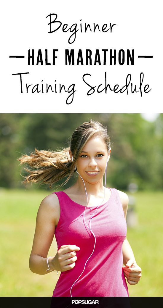 Yes You Can! 4-Month Beginner Half-MarathonTraining Schedule