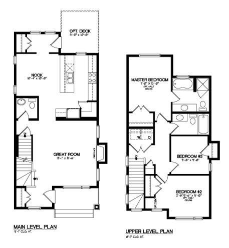 37 best images about floor plans on pinterest bedrooms for 3 bedroom ensuite house plans