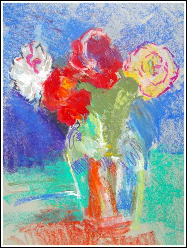 flowers pastel
