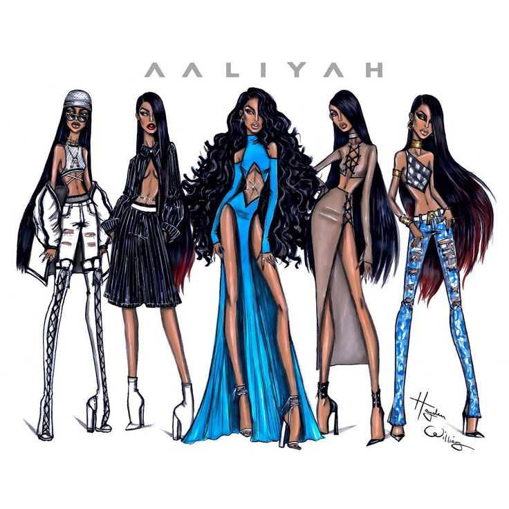 #Aaliyah 15th Anniversary collection by Hayden Williams. Which look was your…