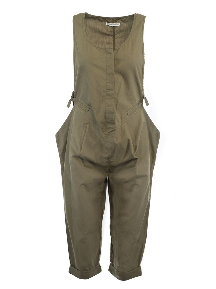 One Piece Apollo Runway Jumpsuit in Army