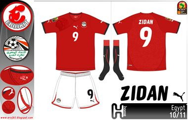 Egypt | home jersey | 2010-12