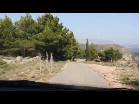 Wzgórze Srđ - zjazd samochodem - Dubrownik Chorwacja || http://crolove.pl/wzgorze-srd-w-dzien-i-w-nocy/ || #Srd# #Dubrownik #Dubrovnik #Chorwacja #Croatia #Hrvatska #Travel #Trip #summer