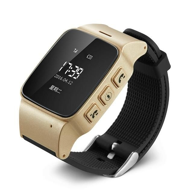 New D99 Elderly GPS tracking Watch For smart phone GPS LBS Wifi location Smart Watch for Old Men Women iOS Android Anti lost