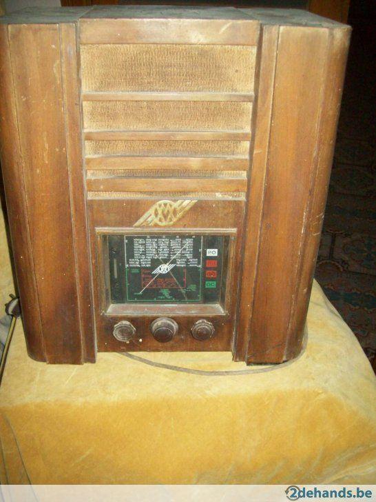 Antieke Lampen Radio.vw