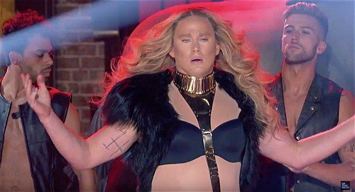 Channing Tatum Brought Beyonce Drag to Last Night's Lip Sync Battle: WATCH