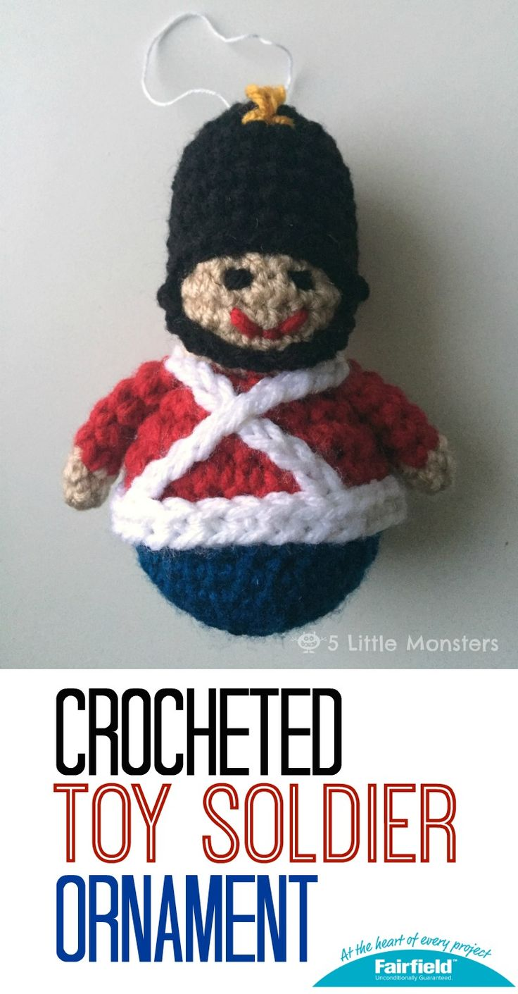 5 Little Monsters: Toy Soldier Christmas Ornament