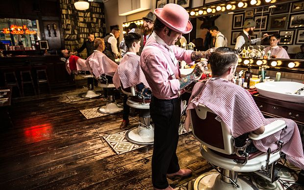 This man took a photograph of his barber every decade for 42 years - Telegraph