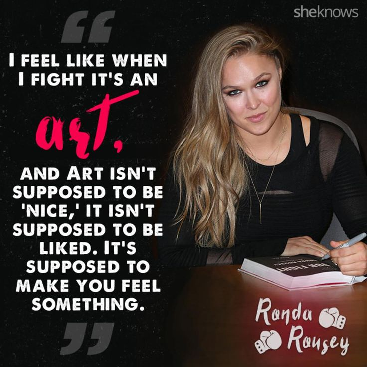 Ronda Rousey is a badass inside and outside the ring!