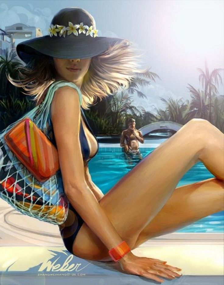 Beautiful Illustrations by Zhang Weimang