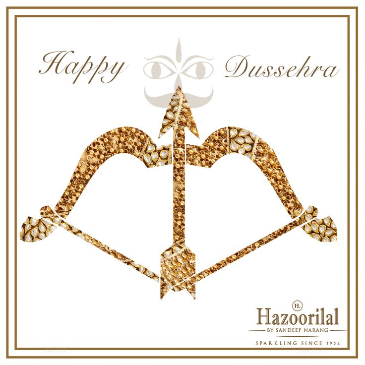 #HazoorilalBySandeepNarang wishes our customers and followers a #HappyDusshera #OstentatiousOctober #Polki #Diamond #Gold #BridalJewellery #RoyalBride #RoyalWeddings #JewelleryTrendSetters #HazoorilalCampaign #ItcMaurya #DlfEmporio #HazoorilalJewellersGK c#HazoorilalCelebrates #Hazoorilal