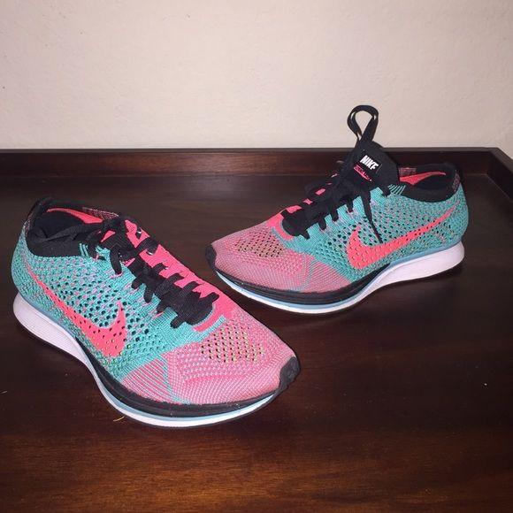 Nike flyknit racers Multi color flyknit racers (5.5 men's) Nike Shoes Sneakers