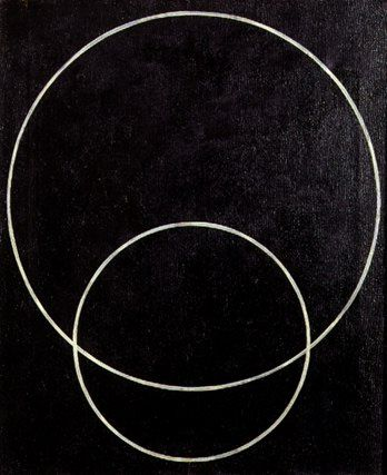 construction no. 127 (two circles) | Alexander Rodchenko, 1920
