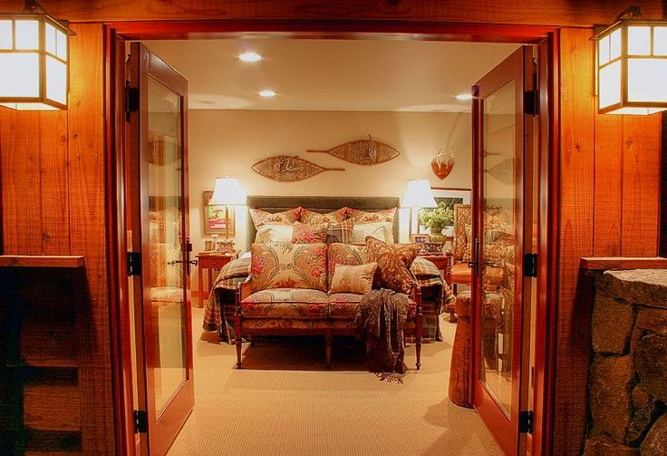 the master bedroom . . . as seen from its own private balcony.