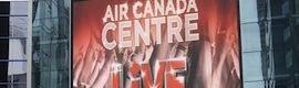 La gran pantalla #led de Panasonic protagoniza la experiencia visual en Air Canada Centre