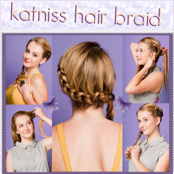 """""""How To ll Katniss Hair Braid"""" by polyvoredreamtippers ❤ liked on Polyvore"""