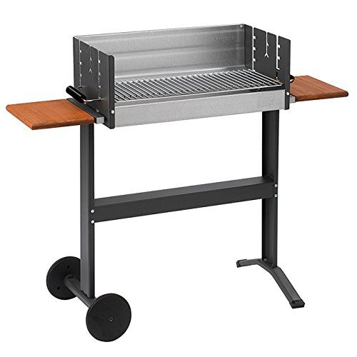 dancook 5300 -  Large Barbecue Box Grill with Side-tables and Wheels