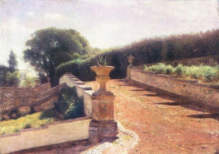Ogród włoski - A. Gierymski