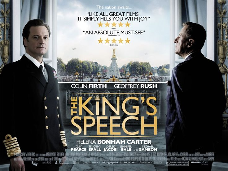 The King's Speech.  Two of my favorite actors in one of the best movies... ever.