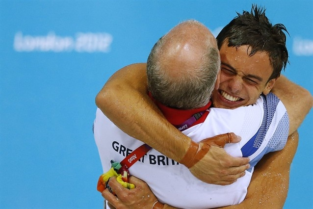 This makes me happy :)  Tom Daley