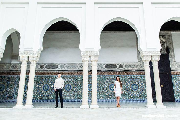 MARIAGE | SÉANCE ENGAGEMENT PARIS  Marrakech vibes...