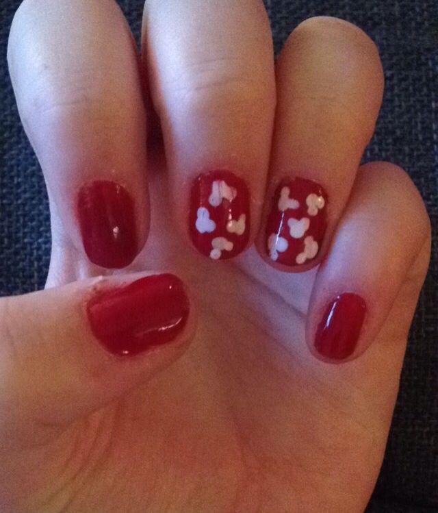 Mickey Mouse Nails #Sydelisenailart