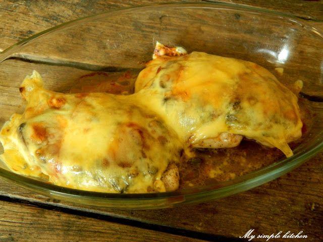Piersi z kurczaka pod kremową kołderką