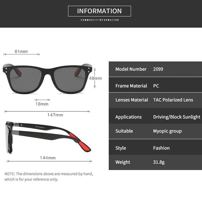 صور ل نظارات مربعة الشكل ذات إطار بصري طبية مع مشبك مغناطيسي مستقطب شمسي Sunglasses Rayban Wayfarer Square Sunglass