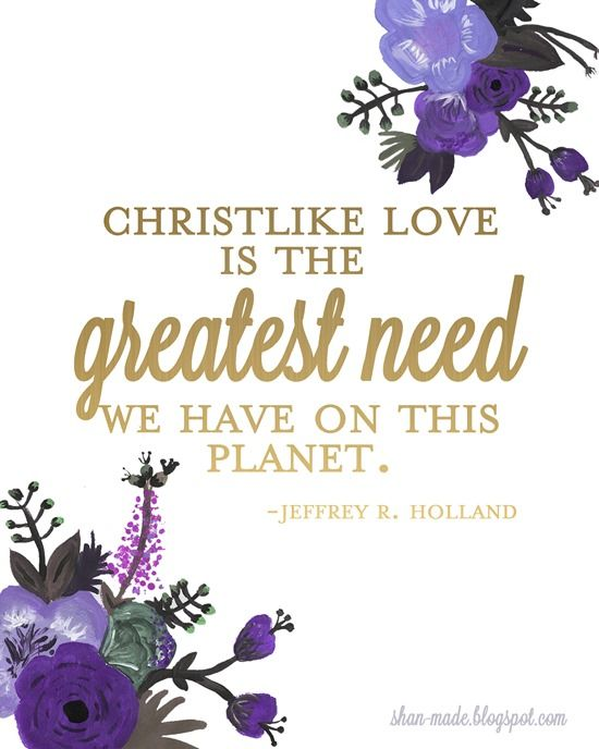 General Conference Printables | April 2014 #ldsconf one of my all time favorite quotes from conference!