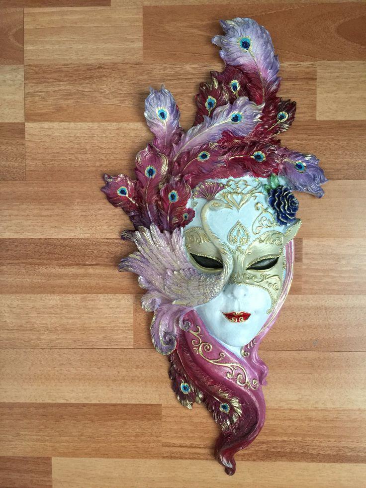 Polyester mask boyama #mask#polyester#boyama