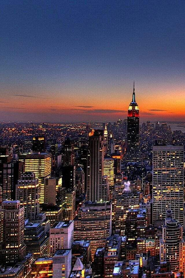 New York City Night Time Enjoy View New York Wallpaper New York Iphone Wallpaper City Wallpaper