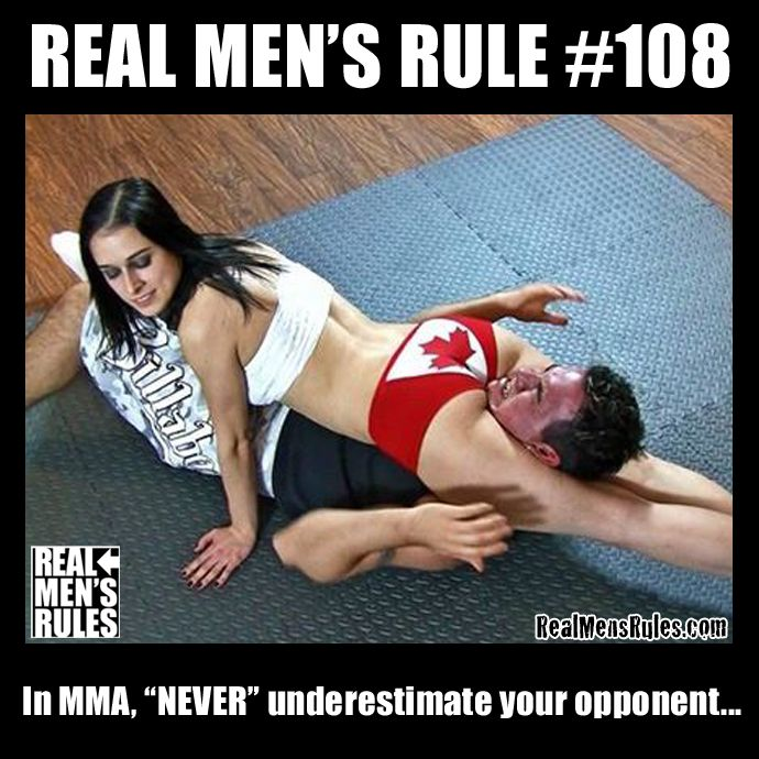 Mixed Wrestling Rules