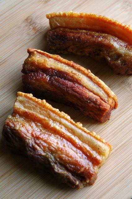 Crispy Pork Belly (Mangoes & Palm Trees)