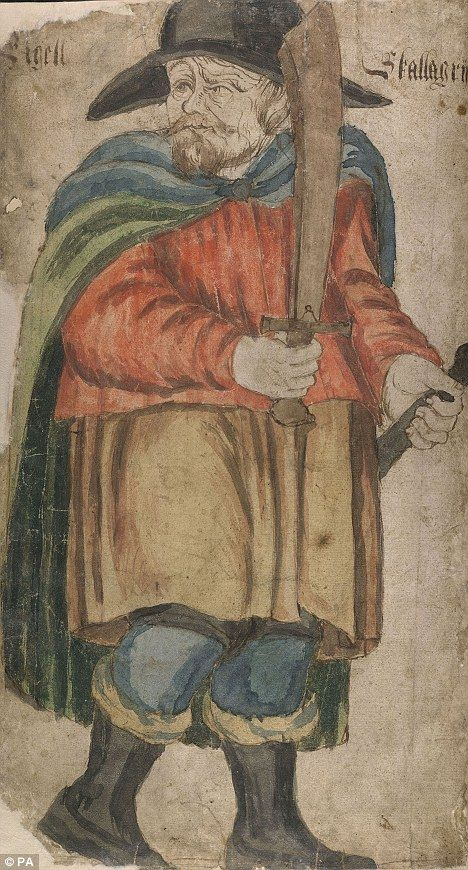 Viking warriors' 'anti-social behaviour' and crimes led medieval chroniclers to create first criminal profile  - A 17th-century Icelandic manuscript of Egill Skallagrimsson, who was a Viking described as having a 'lifelong interest in homicide'.
