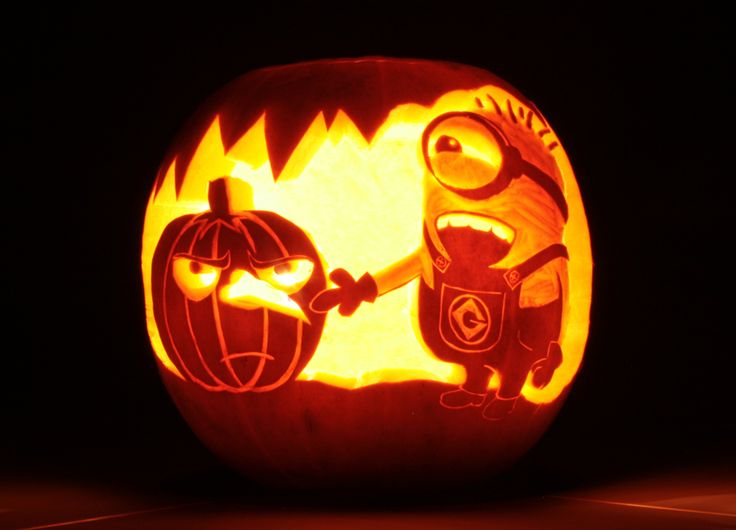 pumpkin carving by Young Lee, one our favourites from our Halloween competition | #CathKidston